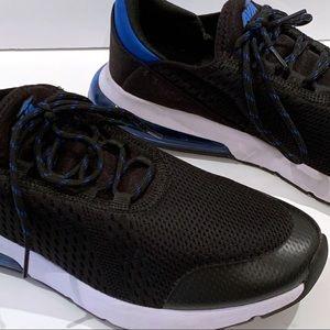 Avia |  Black/Blue Avia O2 Air Shoes